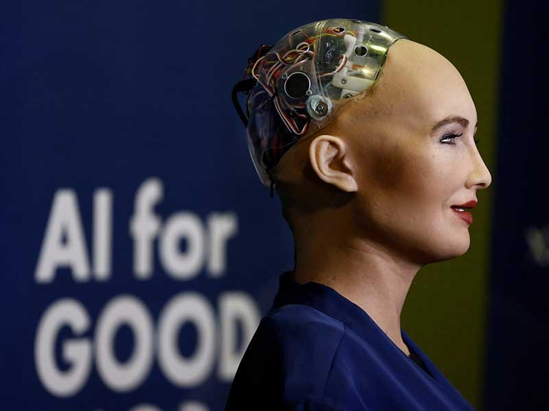 Robot được cấp quyền công dân - ảnh 1