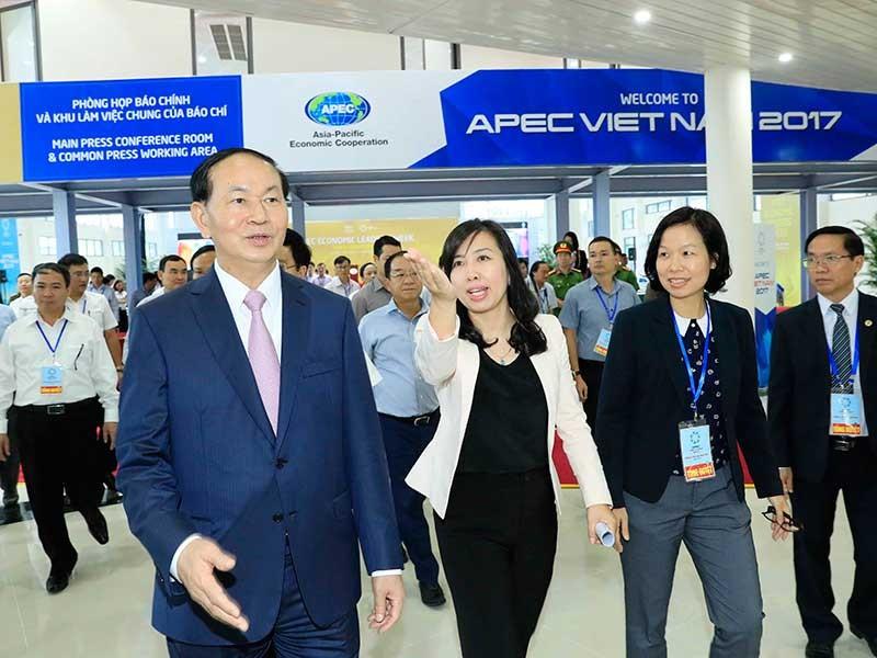 Tổng duyệt các hoạt động của Tuần lễ cấp cao APEC - ảnh 1