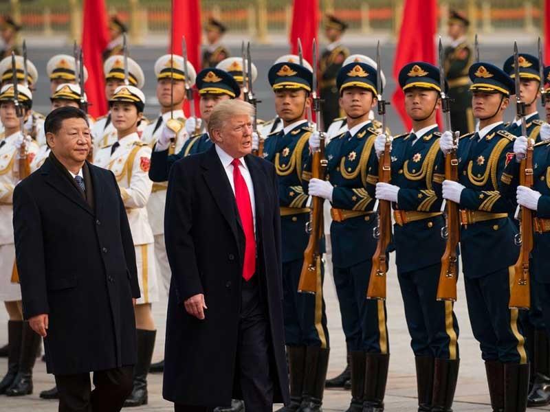 Ông Trump lạc quan về thương mại Mỹ-Trung - ảnh 1