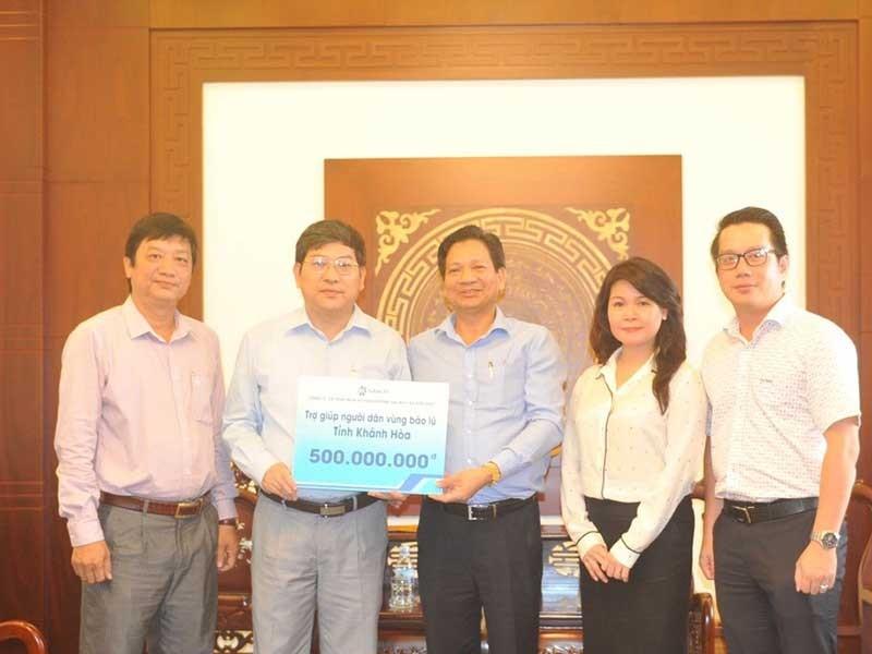 SASCO hỗ trợ người dân vùng bão Khánh Hòa 500triệu đồng - ảnh 1
