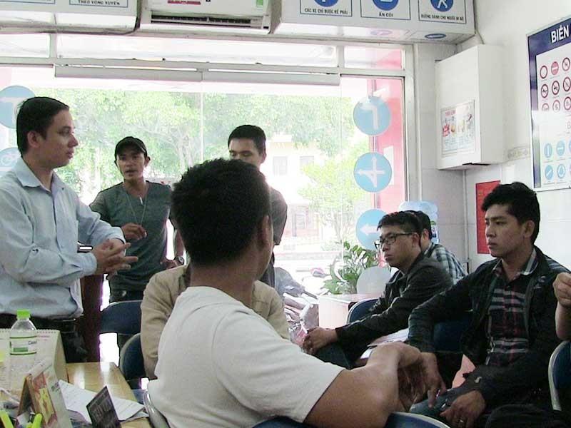 Dính bẫy điểm học lái xe chui ở Phú Nhuận - ảnh 1