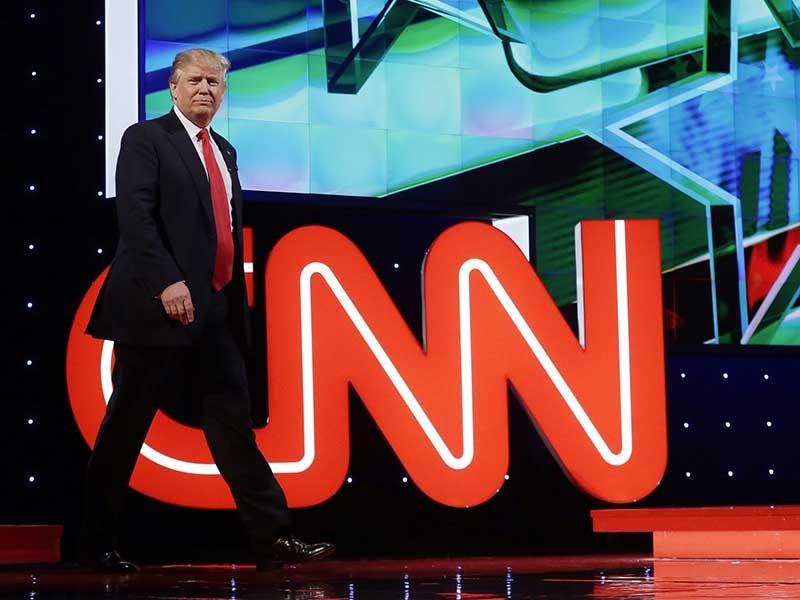 Báo, đài Mỹ và tin tức giả mạo về Tổng thống Trump - ảnh 1