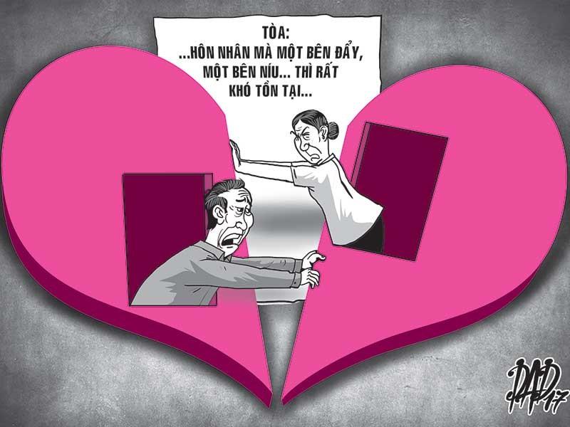 Vợ chồng già tố nhau ngoại tình khi ly hôn - ảnh 1