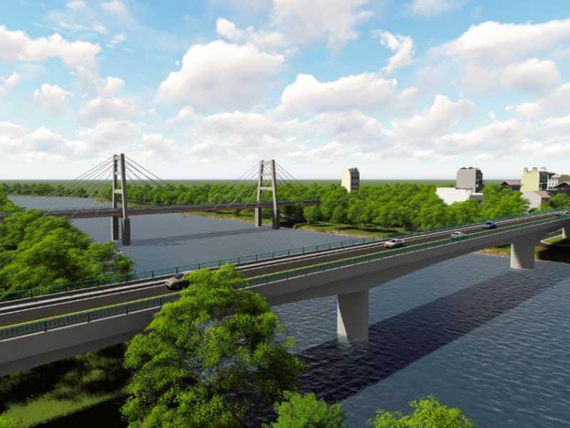 Cầu Vàm Sát 2 nối Cần Giờ với trung tâm TP.HCM - ảnh 1