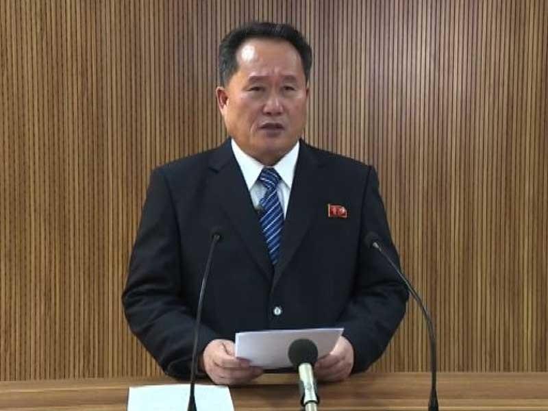 Triều Tiên phản đối bên ngoài can thiệp đối thoại - ảnh 1