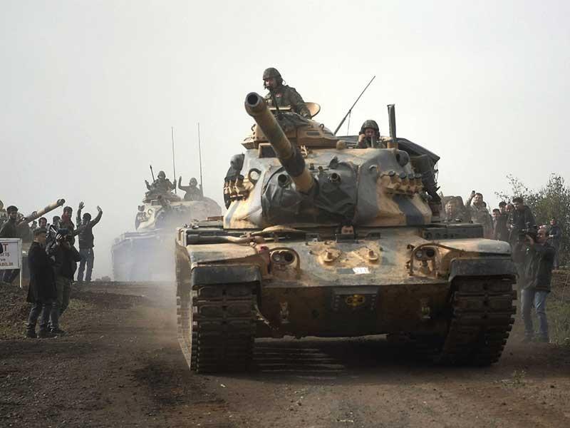 Mỹ và Thổ Nhĩ Kỳ sẽ đối đầu tại Syria - ảnh 1