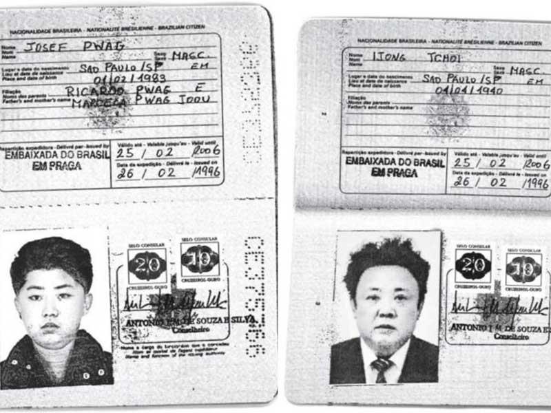 Ông Kim Jong-un từng xài hộ chiếu Brazil? - ảnh 1