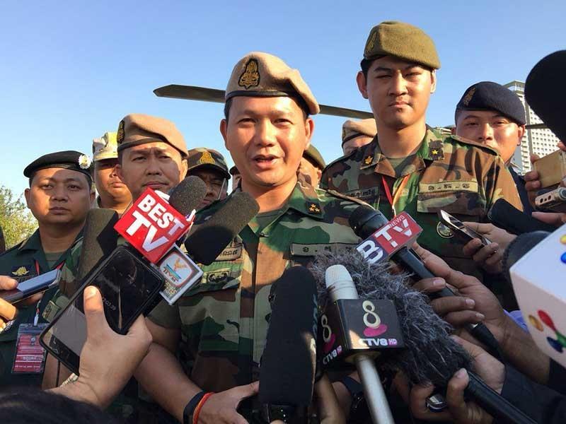 Con trai ông Hun Sen làm tổng tham mưu trưởng quân đội - ảnh 1