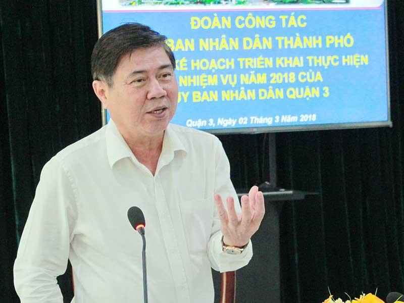 Chủ tịch UBND TP.HCM: Quận 3 phải có 'đặc sản' của mình - ảnh 1