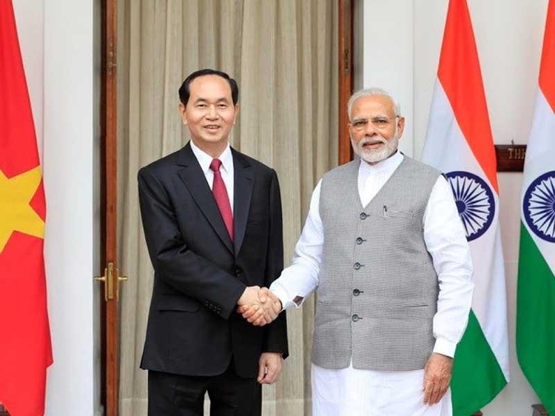 Xây dựng Việt Nam giàu mạnh, Ấn Độ hùng cường - ảnh 1