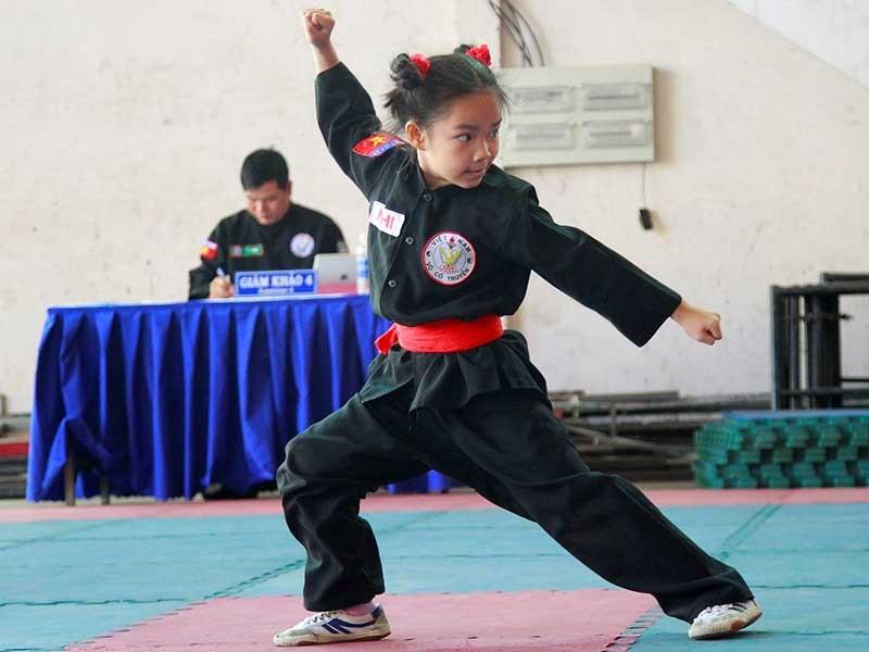 Khai mạc giải vô địch võ cổ truyền TP.HCM - ảnh 1