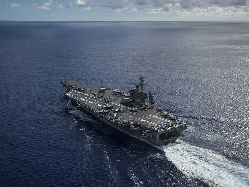 USS Carl Vinson - nước cờ chiến lược của Mỹ - ảnh 1