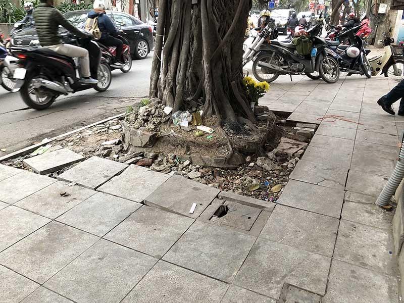 Lát vỉa hè Hà Nội: Các quận đồng loạt 'rút kinh nghiệm' - ảnh 1