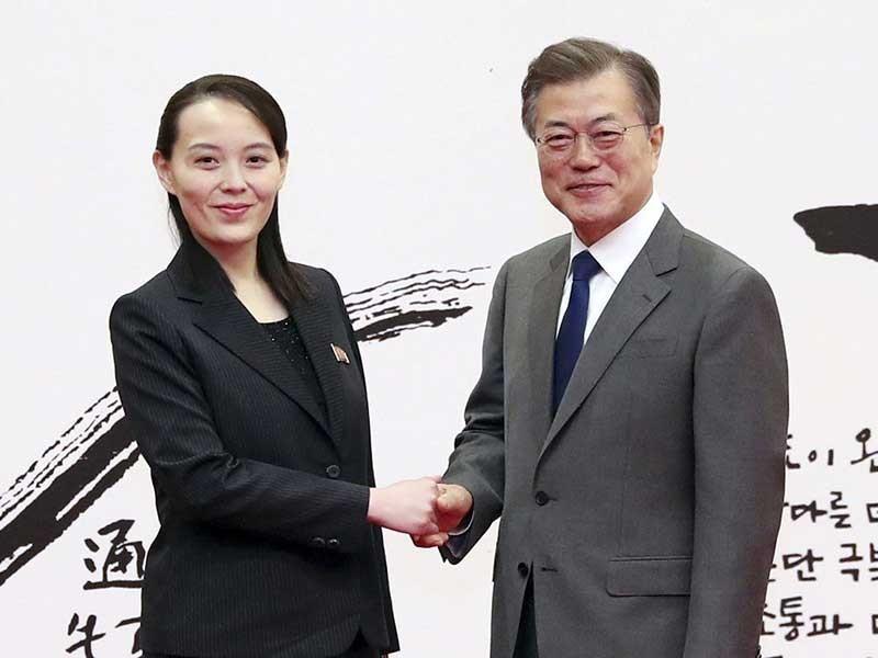 Sứ giả hòa bình sắc bén của ông Kim Jong-un - ảnh 1