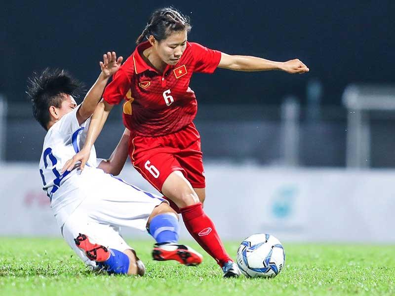 Nữ tuyển thủ 'mang thai đá bóng' và vô địch SEA Games - ảnh 1