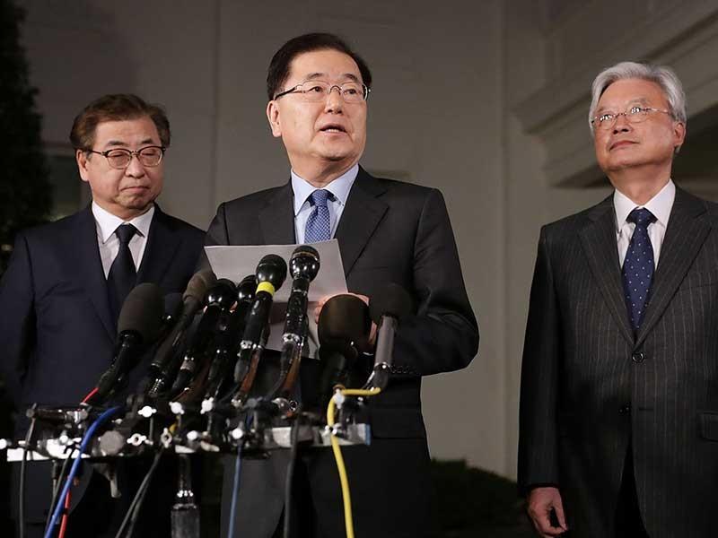 Nỗ lực ngoại giao thần tốc của Triều Tiên - ảnh 1