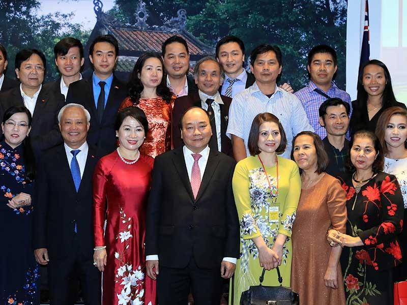 Thủ tướng thăm cộng đồng người Việt tại New Zealand - ảnh 1