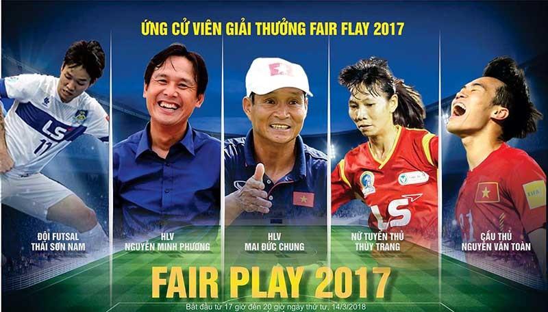 Ai đoạt ngôi cao nhất Fair Play 2017? - ảnh 1