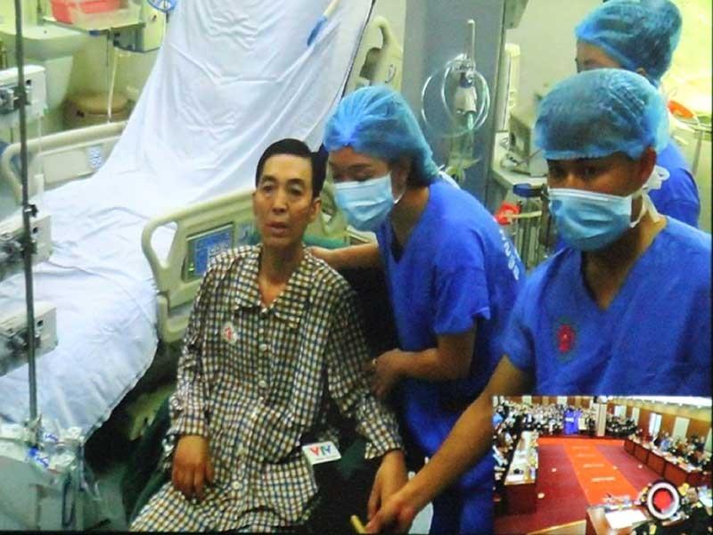 Hành trình mang quả tim từ Hà Nội vào TP.HCM để ghép - ảnh 1