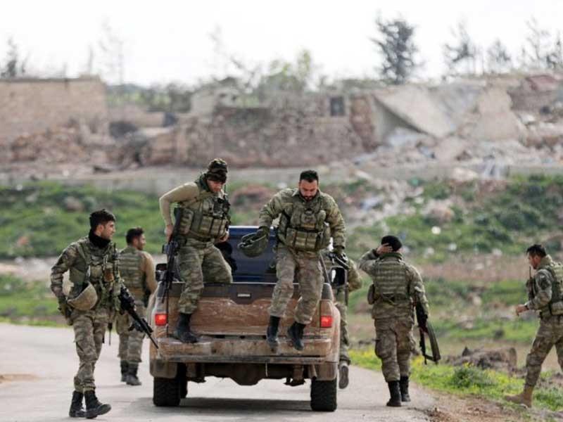 Lực lượng Thổ Nhĩ Kỳ đã chiếm trọn TP Afrin - ảnh 1