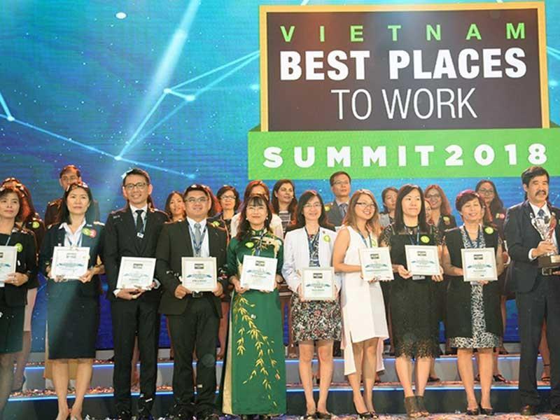 100 nơi làm việc tốt nhất VN: Vingroup chiếm ưu thế - ảnh 1