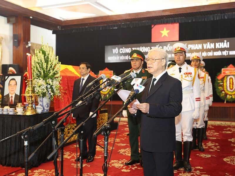 Vĩnh biệt nguyên Thủ tướng Phan Văn Khải - ảnh 1
