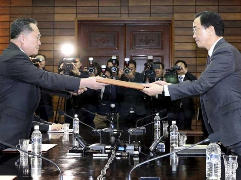 27-4, ông Kim Jong-un sẽ gặp tổng thống Hàn Quốc - ảnh 1