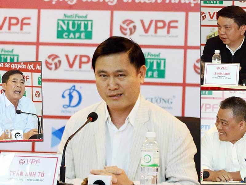 Hội đồng quản trị VPF giữ ghế cho bầu Tú - ảnh 1