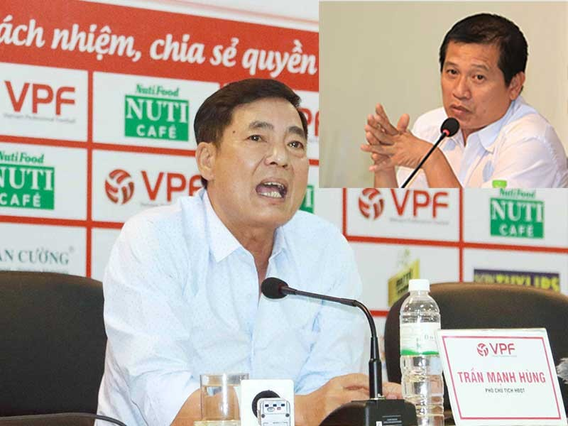 Phó chủ tịch VPF mâu thuẫn với phó Ban Trọng tài VFF - ảnh 1