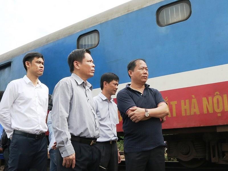 Xử lý người đứng đầu để xảy ra tai nạn đường sắt - ảnh 1