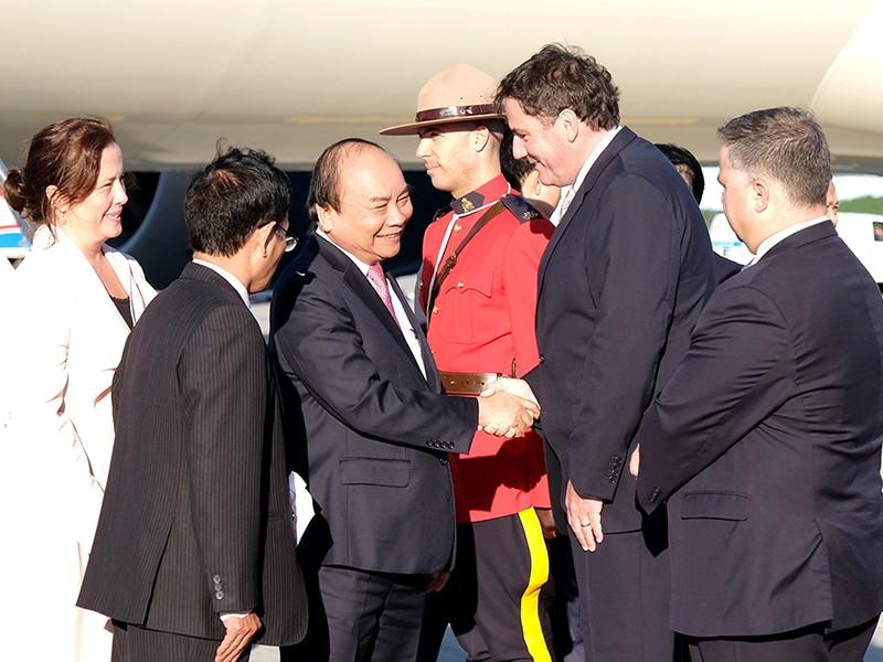 Thủ tướng bắt đầu tham dự Hội nghị G7 mở rộng và thăm Canada - ảnh 1