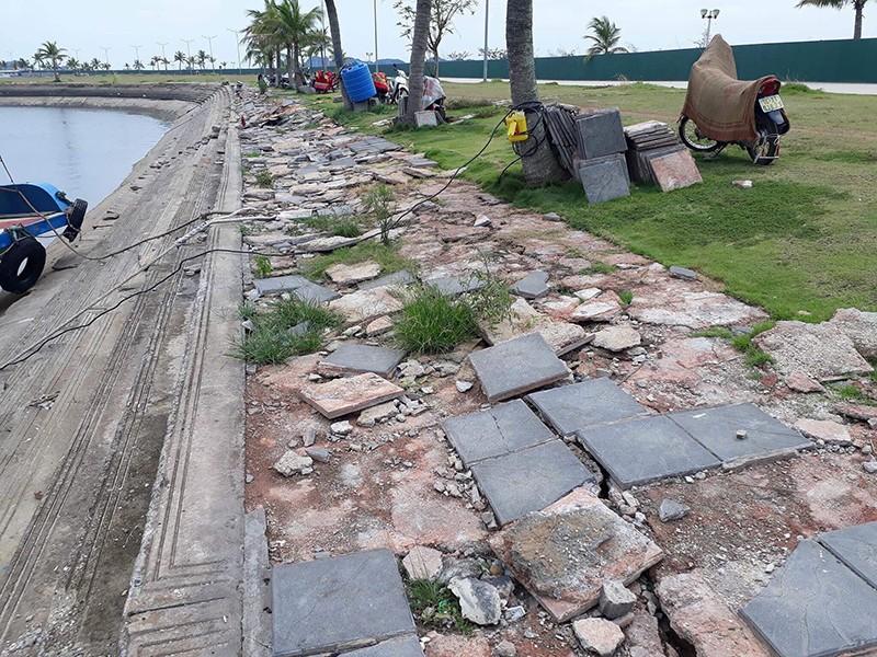 Nhếch nhác cảng tàu khách Tuần Châu - ảnh 1