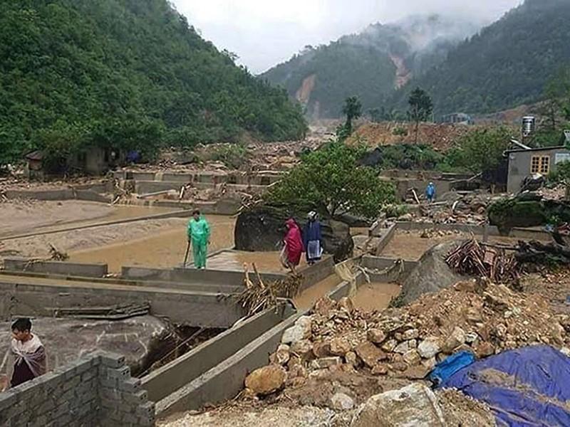 25 người chết, mất tích do lũ ở vùng núi phía Bắc - ảnh 1