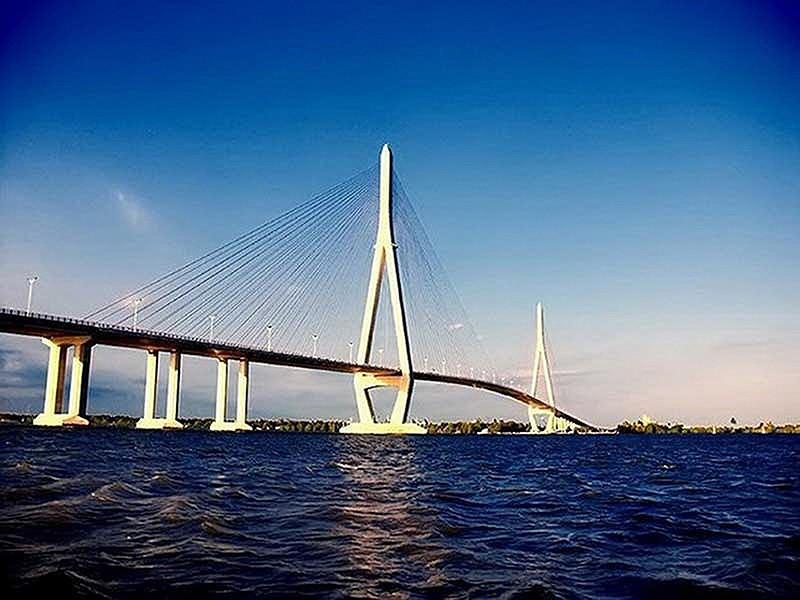 Hơn 5.100 tỉ đồng xây cầu Mỹ Thuận 2 - ảnh 1