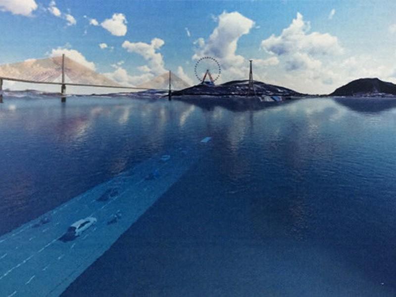 Chọn phương án khả thi xây đường hầm qua vịnh Cửa Lục - ảnh 1