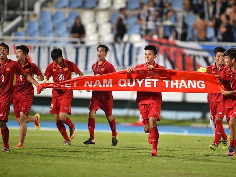 U-16 Việt Nam tự tin lấy cúp vàng ở Indonesia - ảnh 1