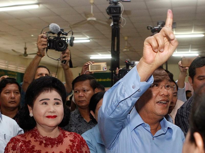 Bầu cử QH Campuchia: 'Nhất siêu, đa cường' - ảnh 1