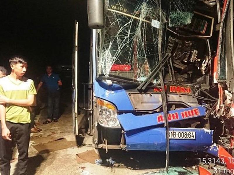 Vụ tai nạn 13 người chết: Tài xế chạy nhiều giờ liền - ảnh 1
