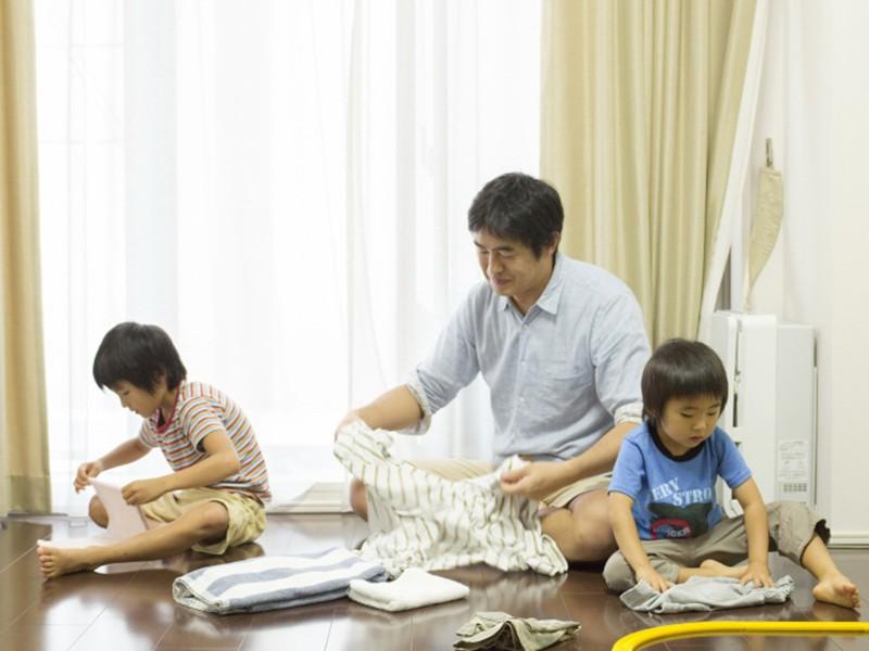 Những ông bố bỉm sữa ở Nhật Bản - ảnh 2