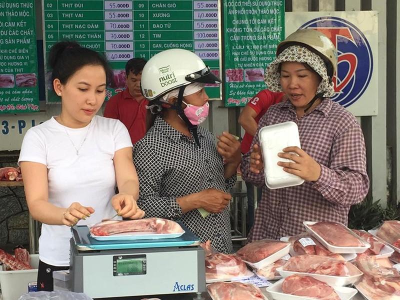Giá thịt heo tăng sốc! - ảnh 1