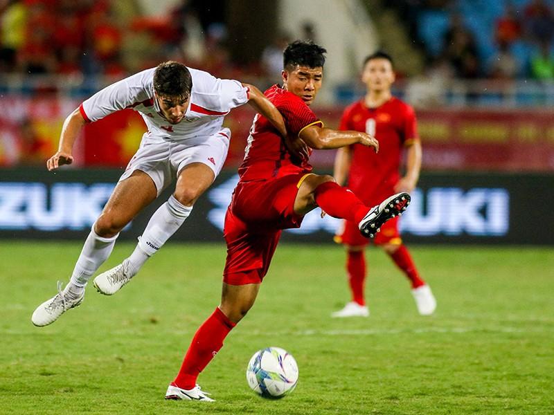 Olympic Việt Nam muốn nhất bảng D - ảnh 1