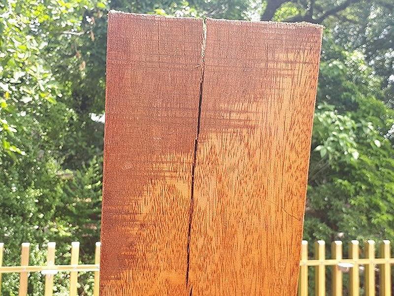 Đường đi bộ gỗ lim tiền tỉ ở Huế xuất hiện nhiều vết nứt - ảnh 1