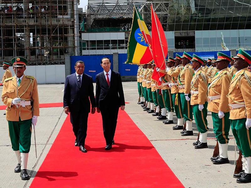 Chủ tịch nước thăm cấp nhà nước Ethiopia và Ai Cập - ảnh 1