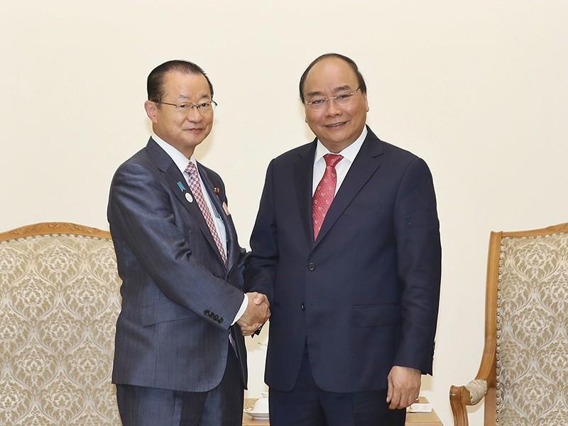 Thủ tướng tiếp đoàn nghiên cứu của Hạ viện Nhật Bản - ảnh 1