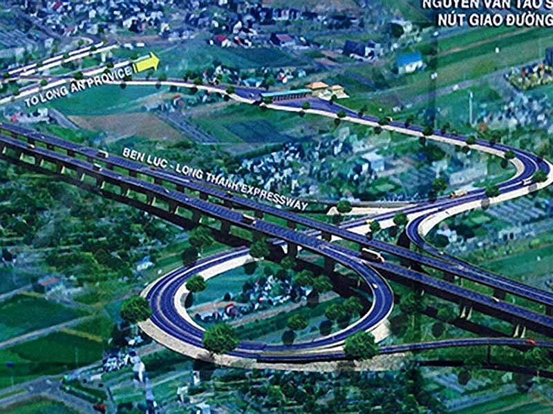 Cao tốc Bến Lức-Long Thành chậm tiến độ do vướng mặt bằng - ảnh 1