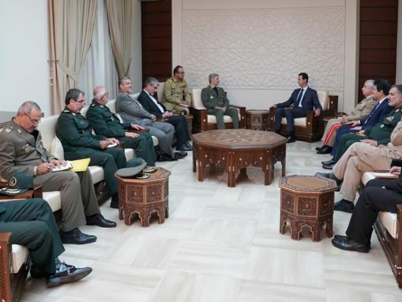 Mỹ, Nga không thể đẩy Iran khỏi Syria - ảnh 1