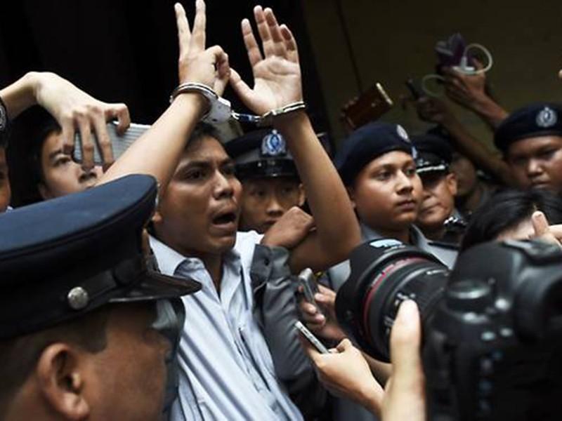 Myanmar kết án 7 năm tù 2 phóng viên Reuters - ảnh 1
