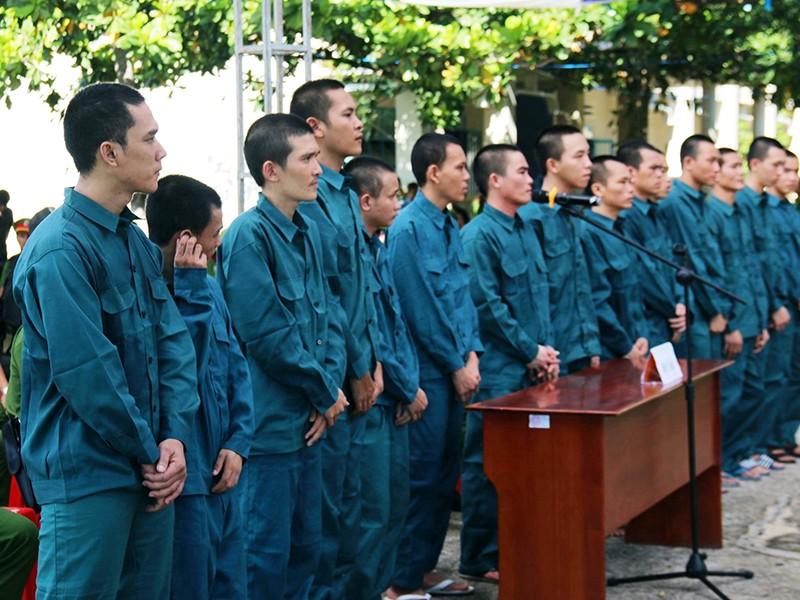 Gây rối ở Phan Rí Thành, 15 người lãnh án - ảnh 1
