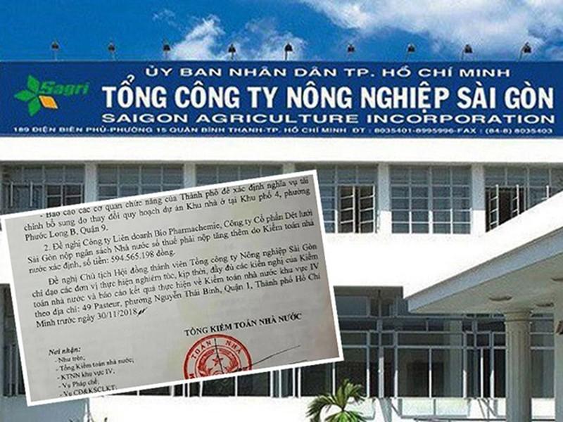 Tổng Công ty Nông nghiệp Sài Gòn: đầu tư lỗ hàng trăm tỉ - ảnh 1