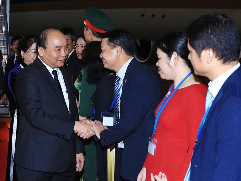 Thủ tướng đến Tokyo dự hội nghị Mekong-Nhật Bản - ảnh 1